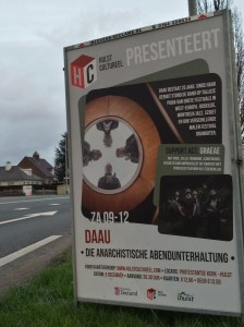 GRAEAE poster in Hulst